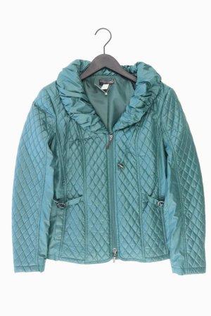 Pikowana kurtka turkusowy Poliester