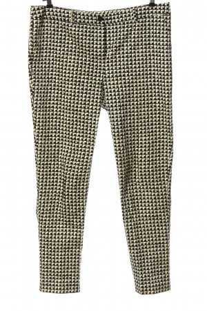 Creation L. Jersey Pants natural white-black allover print casual look