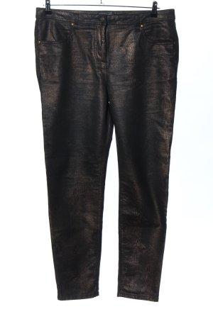 Creation L. Straight-Leg Jeans schwarz Allover-Druck Casual-Look