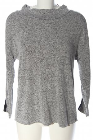 Creation L. Knitted Sweater light grey flecked casual look