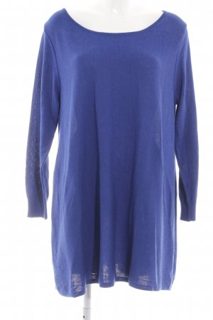 Creation L. Strickpullover blau Casual-Look
