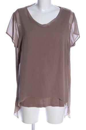 Creation L. T-Shirt braun Casual-Look