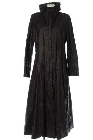 Creenstone Długi płaszcz czarny W stylu casual