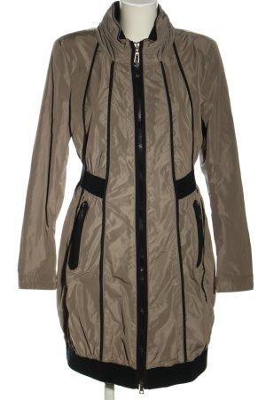 Creenstone Manteau de pluie brun-noir style décontracté