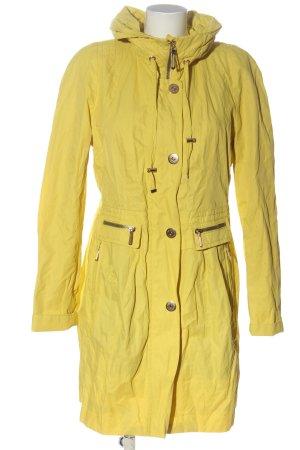 Creenstone Between-Seasons-Coat primrose casual look