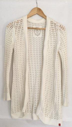 edc by Esprit Veste tricotée en grosses mailles blanc cassé