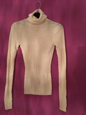 Hugo Boss Pull en laine blanc cassé-crème laine