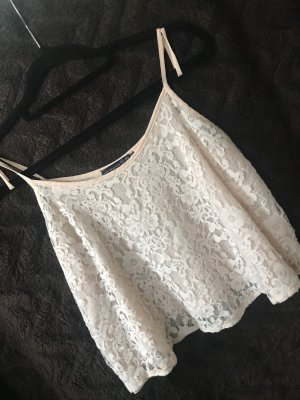 Atmosphere Cropped Top cream