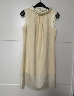 Fever london Sukienka midi jasnożółty-kremowy