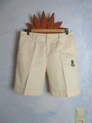 Creme Ralph Lauren Bundfalten Jeansshorts Größe M - Denim Shorts