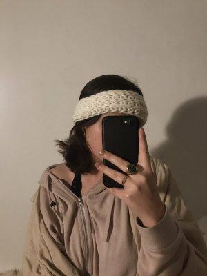 Creme Stirnband