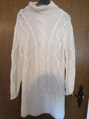 C&A Robe en laine blanc cassé-crème