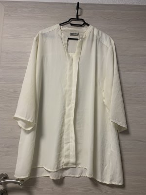 Creme/Weiße Bluse
