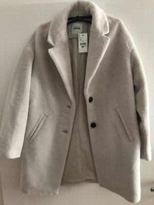 Creme/weißer Mantel