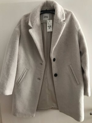 Pimkie Cappotto in eco pelliccia bianco sporco