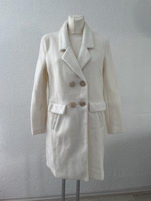 Creme weißer Mantel gr 40 Herbstmantel