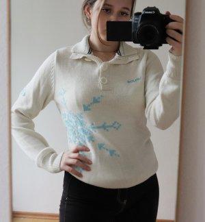 Creme weißer Winterpullover von Vaude