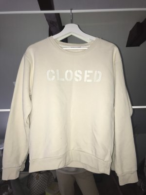 cremefarbender CLOSED-Pullover