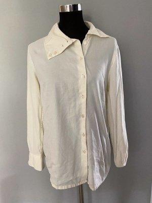 Cremefarbene Bluse von Van Laack, Gr. 38