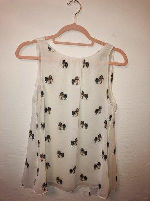 Cremefarbene Bluse von Zara