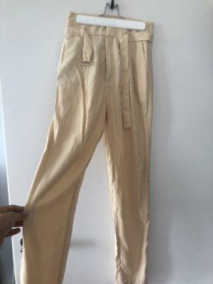 Cremefarbene Hose aus Modal