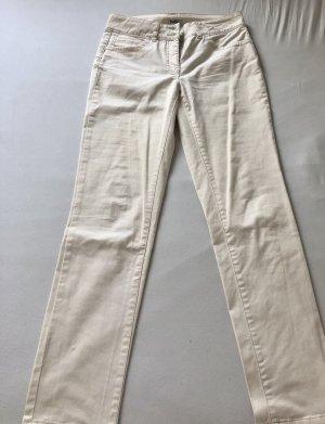 Class International Spodnie biodrówki kremowy Bawełna