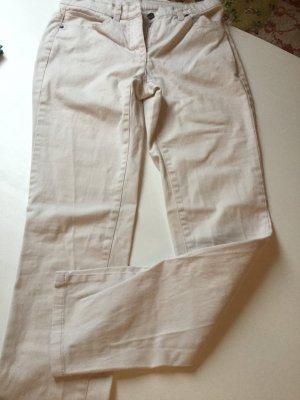 cremefarbene Jeans von Best Connections