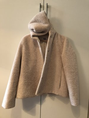 Betta Corradi Fake Fur Jacket cream