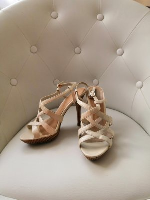 Charles & Keith Pumps light brown-cream
