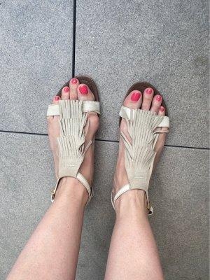 Cremefarbene Sandaletten von Marc O'Polo