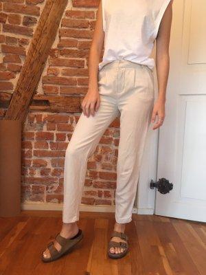 H&M Spodnie Capri Wielokolorowy
