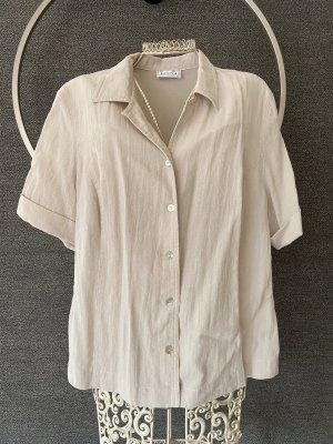 Cremefarbenes Blusen-Tshirt