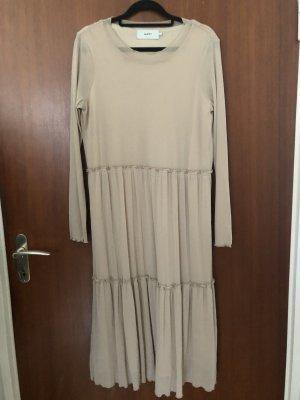Cremefarbenes elegantes Abendkleid / Maxidress von Zalando