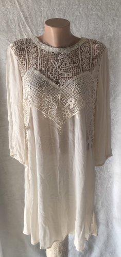 Cremefarbenes Kleid H&M Gr. 40