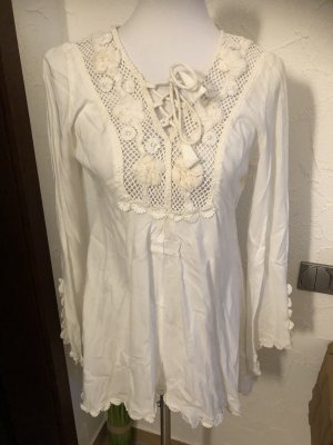 b.c. best connections Tuniekblouse room-wolwit Viscose