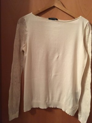 Cremefarbenes Shirt aus Baumwolle von Ralph Lauren