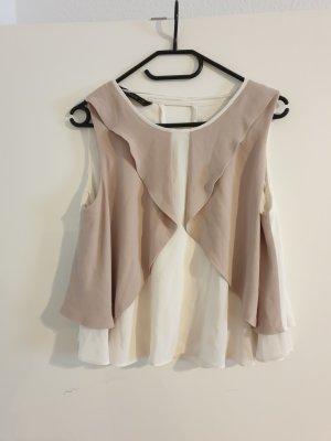 Zara Basic Blouse Top multicolored