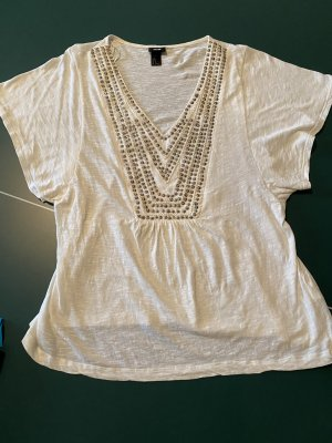 Cremeweiss farbenes Shirt h&M