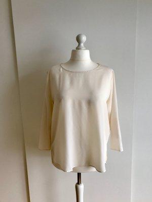 Cremeweiße Bluse von Zara