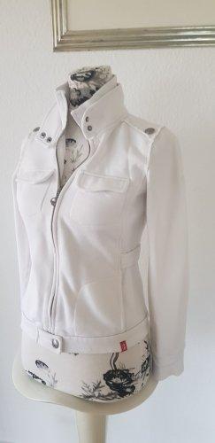 edc by Esprit Veste sweat blanc cassé