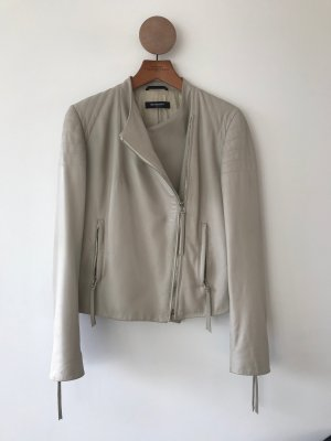 Michalsky Leather Jacket oatmeal leather