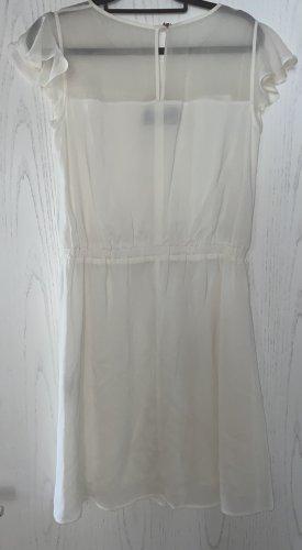 Cremeweisses Sommerkleid Kleid von Patrizia Pepe Gr. 44(38)
