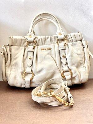 Miu Miu Shoulder Bag white-cream