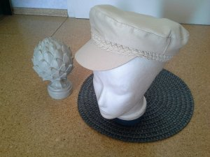 Hennes & Mauritz Bucket Hat cream cotton