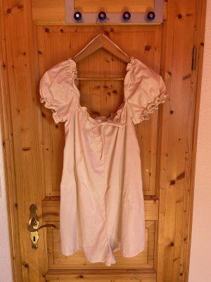 Pull & Bear Garnitur damski kremowy-w kolorze białej wełny