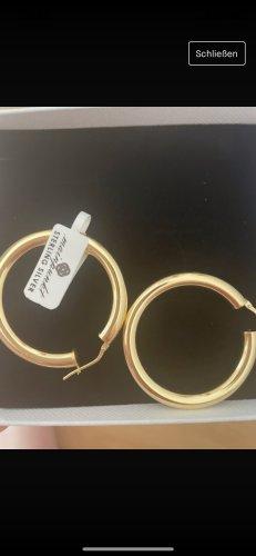 mainpunkt Ear Hoops gold-colored