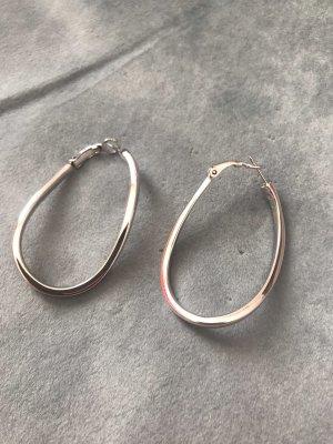 Pierre Lang Pendientes tipo aro color plata