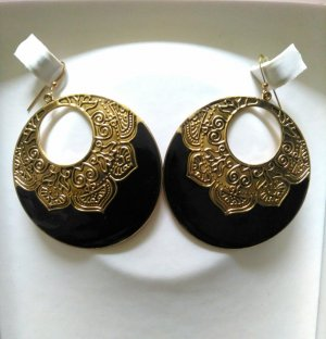 DESIGNER'S Torebki Creole czarny-złoto