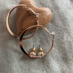 H&M Ear Hoops gold-colored