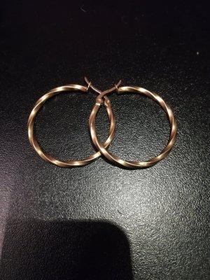 Schmuckrausch Pendant d'oreille bronze-or rose